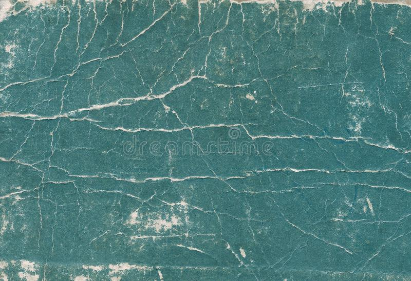 Old scratched and torn paper book cover surface. Abstract background and texture for design royalty free stock photo