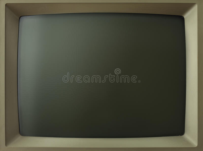 Old screen royalty free stock image