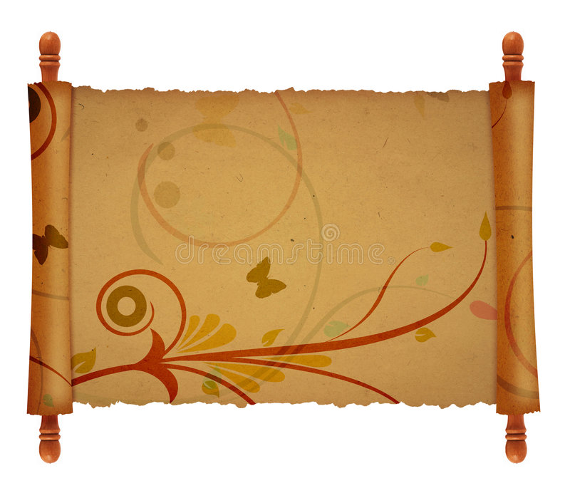 old scroll background stock illustration. image of ancient - 3734820, Powerpoint templates