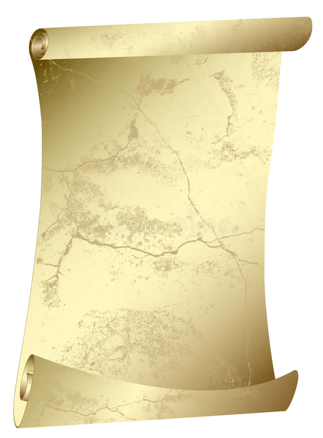 Download Old Scroll - Grunge Parchment Royalty Free Stock Image - Image: 12866656