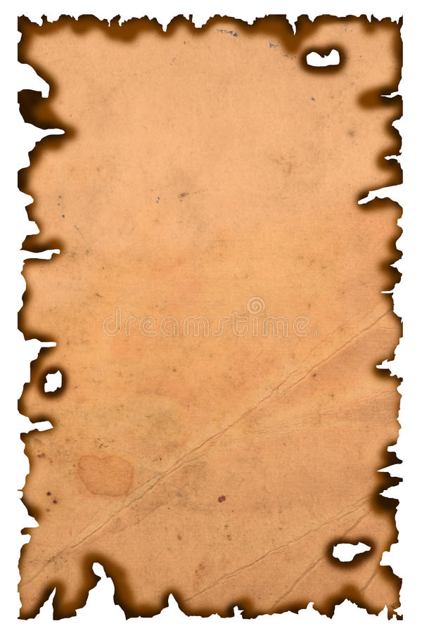 Old scroll royalty free stock photo