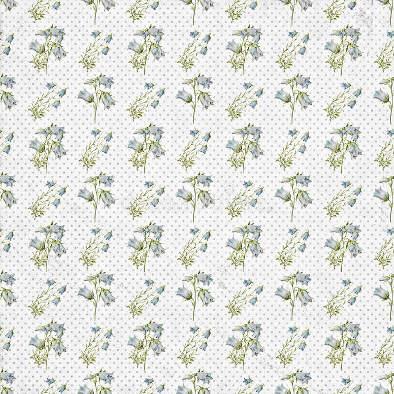 Old seamless floral pattern wallpaper. For your next project stock images