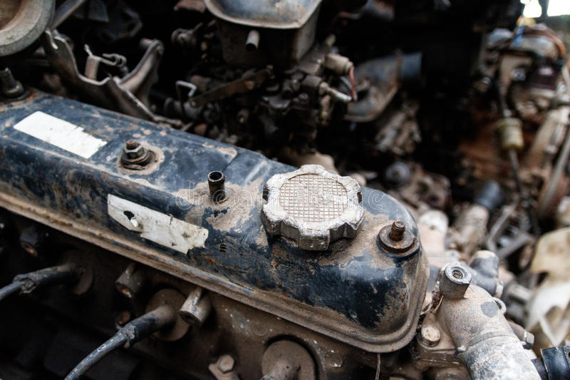 Old Second Hand Spare Part 1 royalty free stock image