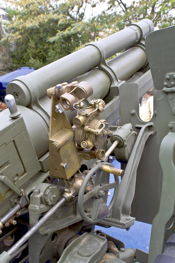 Download Old Second World War Artillery Weapon Royalty Free Stock Photo - Image: 10934555