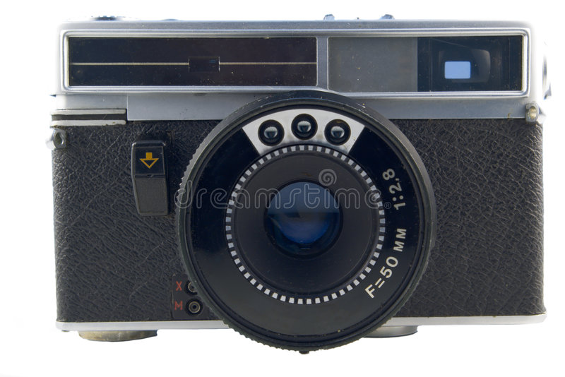 Download Old Semi-automatic Rangefinder Stock Photo - Image: 3055100