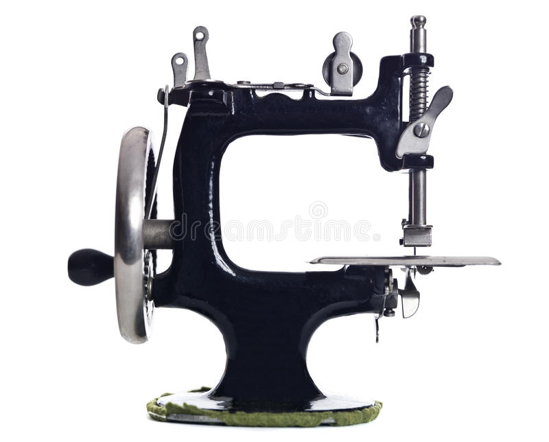 Download Old Sewing machine stock photo. Image of white, knob - 13087414