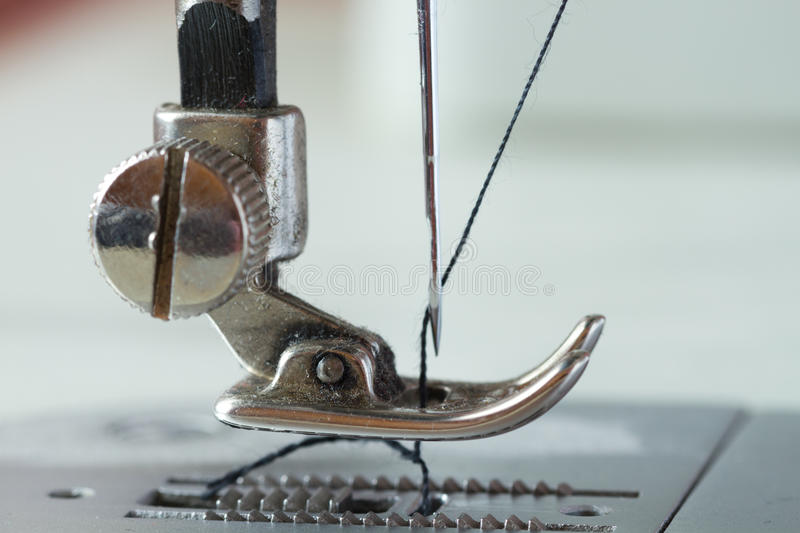Download Old sewing machine stock image. Image of handicraft, thread - 40756015