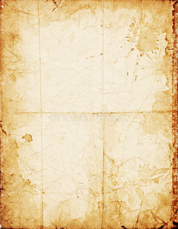 Old shabby paper stock photo
