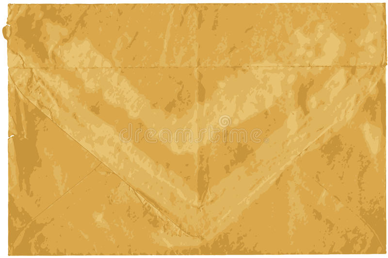 Download Old Shabby Sealed Envelope Royalty Free Stock Photos - Image: 36579388