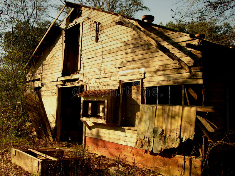 Download Old Shack stock photo. Image of florida, building, down - 518158
