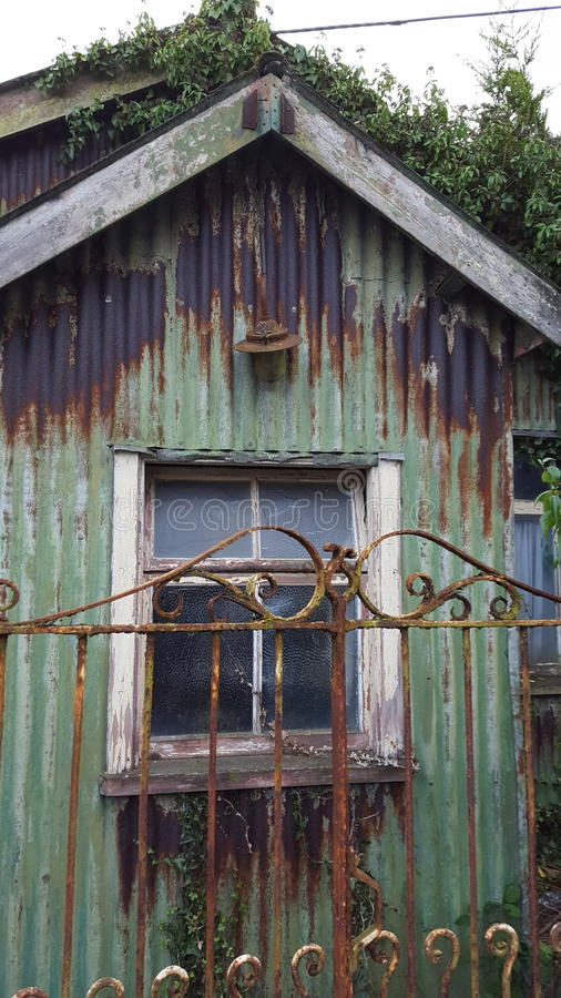 old shed royalty free stock photo