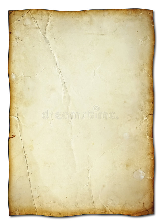 Download Old sheet stock photo. Image of stained, grunge, aging - 6507636