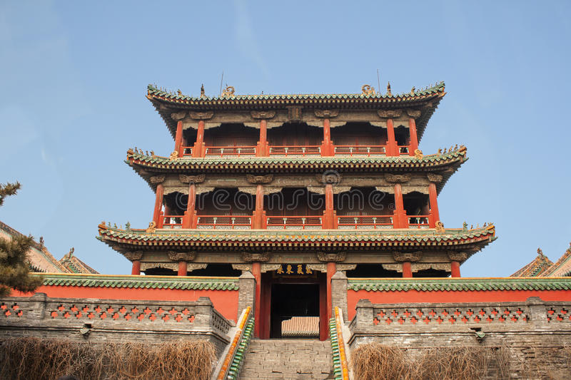 Old Shenyang Beijing Imperial Palace Forbidden City China royalty free stock images
