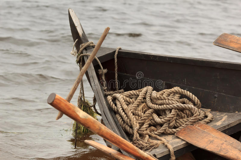 Old ship bow royalty free stock images