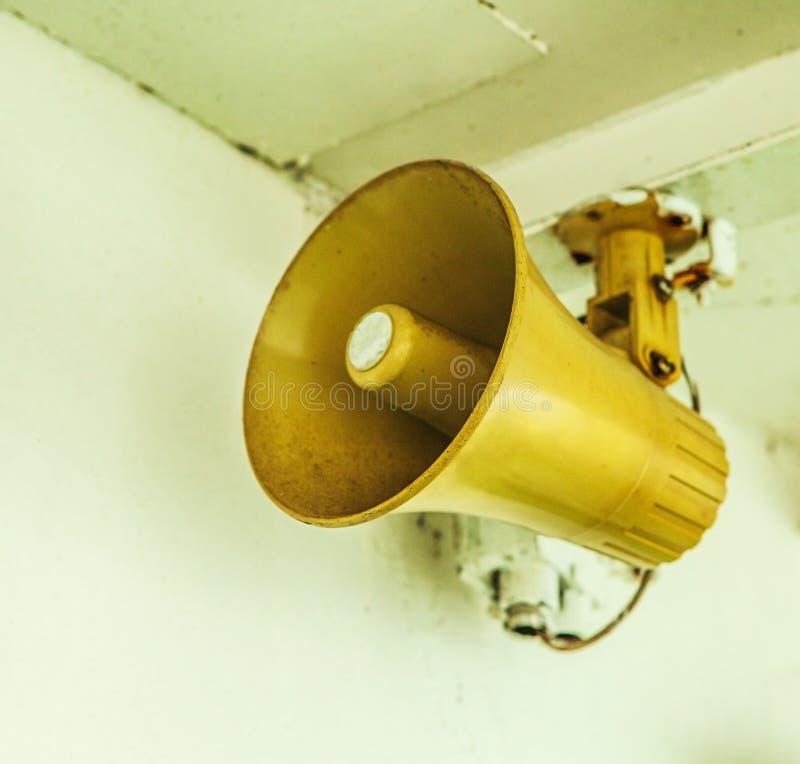Free Old Ship Loudspeaker Stock Photo - 41045140
