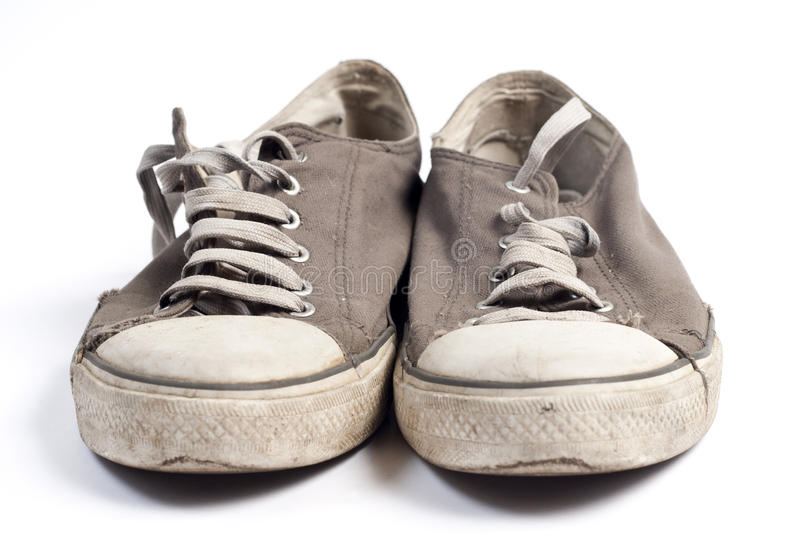 Old shoes royalty free stock image