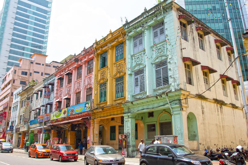 Old shop houses in kuala lumpur malaysia editorial image for Classic house kl