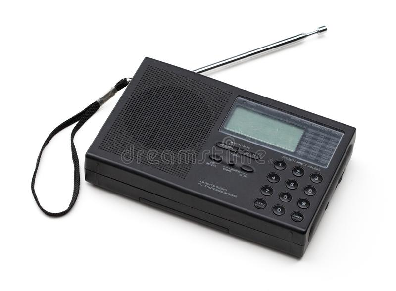 Old Short Wave Radio stock photography