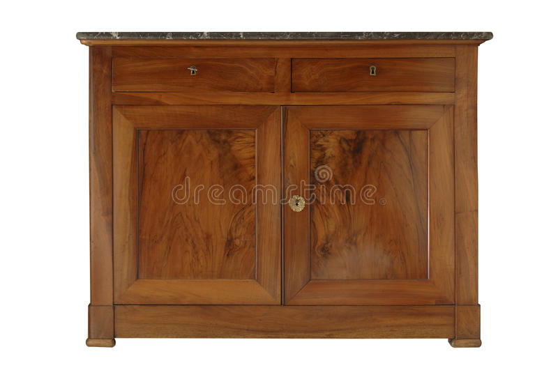 Old sideboard royalty free stock images