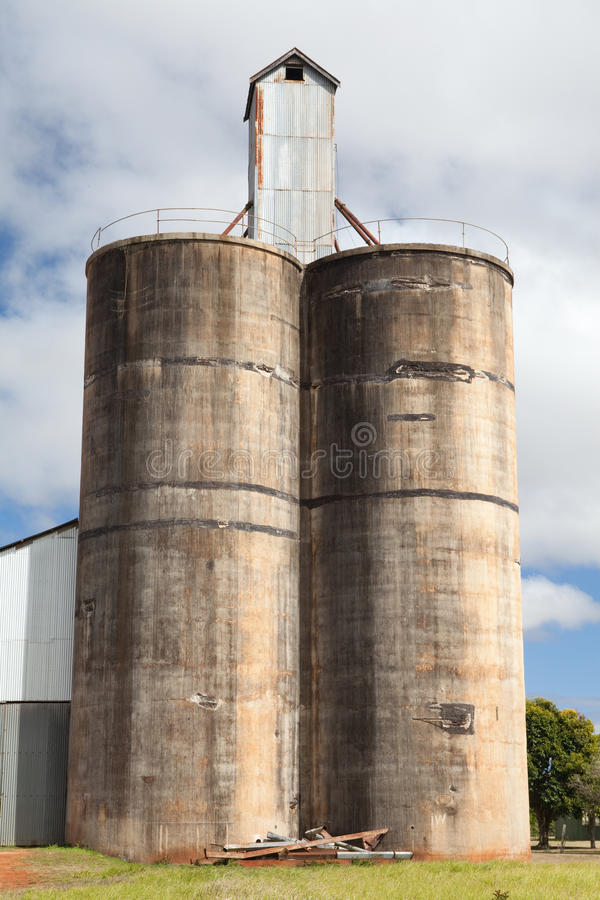 Download Old silo stock photo. Image of harvest, agricultural - 23160504
