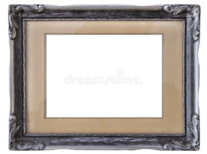 Download Old silver frame stock photo. Image of metal, framing - 26588218