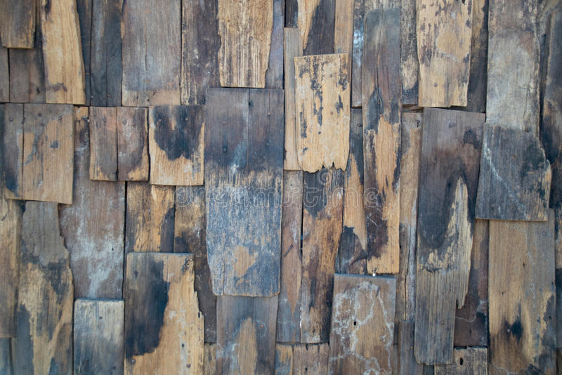 Old slat wood wall vintage texture and background royalty free stock photography