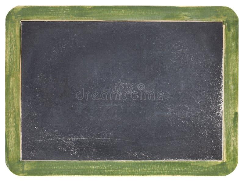 Old slate blackboard stock photo