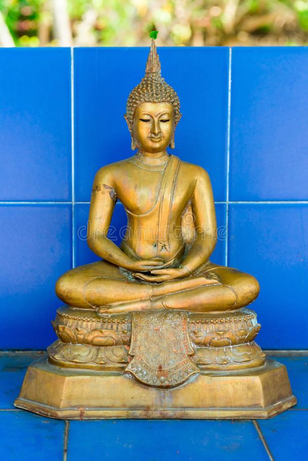 Download Old Small Buddha Statue In Thai Style Stock Image - Image: 102084609