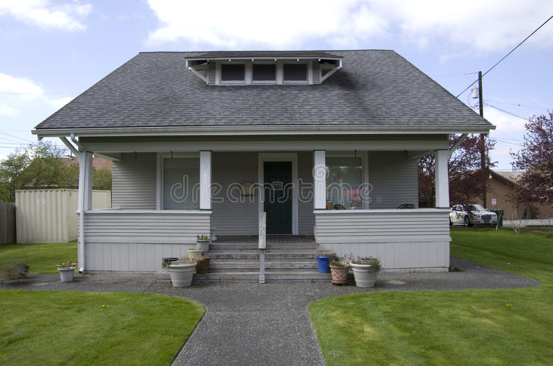 Tiny House Town Beautiful Seattle Tiny House: Old Small House Stock Photo. Image Of Estate, Wooden
