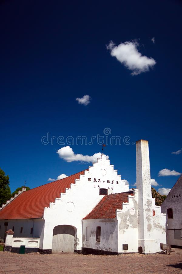 An old smokehouse near the Castle Dragsholm in Denmark royalty free stock photography