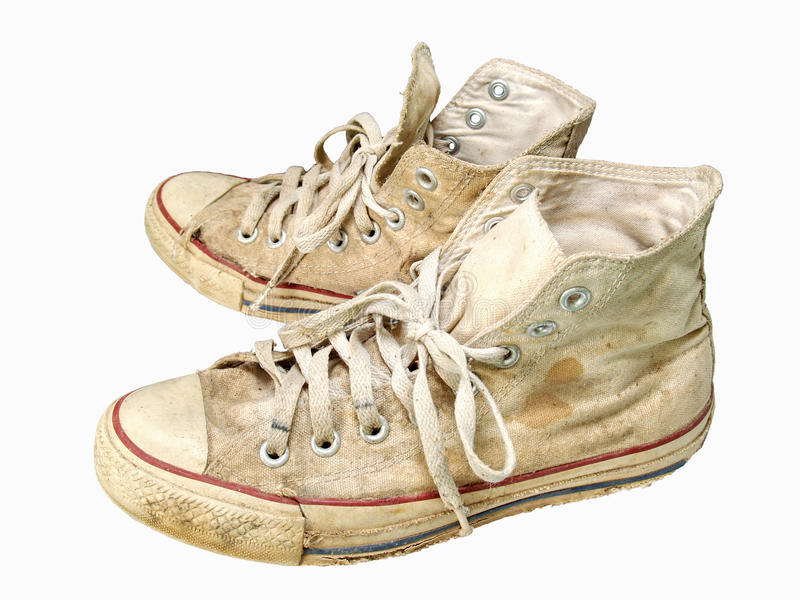 Download Old sneakers stock photo. Image of brown, mens, skate - 15939276