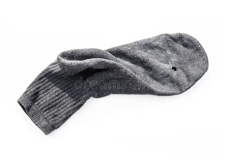 Old Sock royalty free stock photography