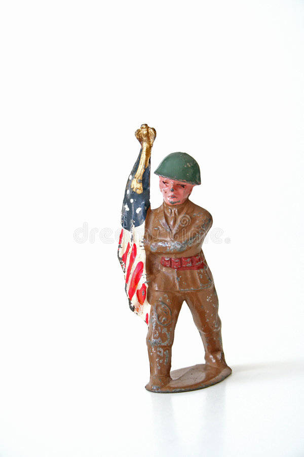 Old Soldier stock photos