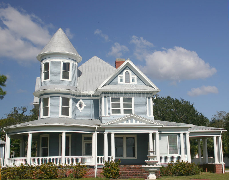 Download Old Southern Home stock photo. Image of home, house, circular - 131714