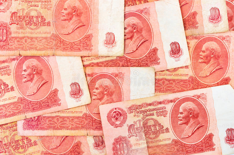 Download Old Soviet Russian Money Background Stock Photo - Image: 20055940