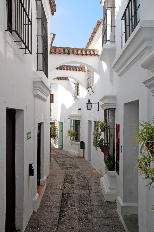 Free Old Spain Street View Royalty Free Stock Photography - 19186327