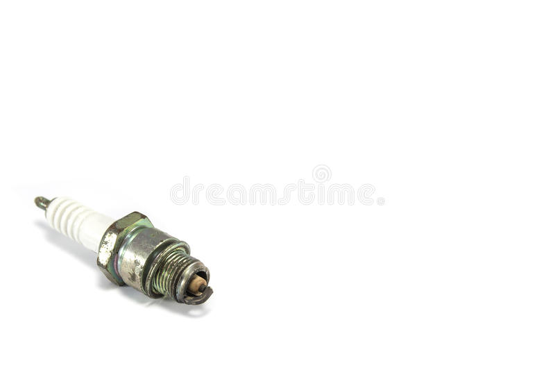 Old spark plug stock images