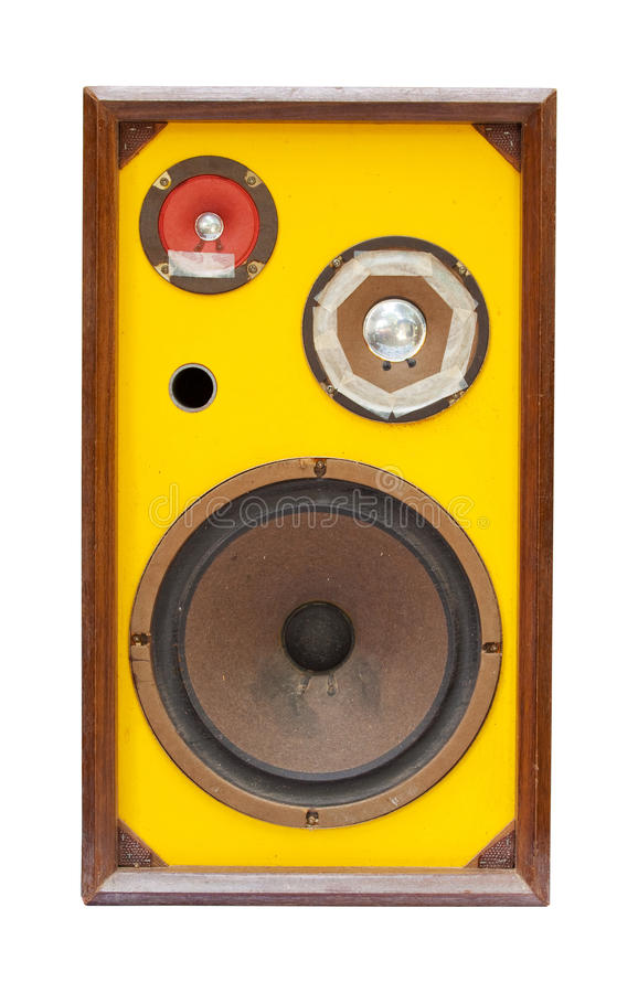 Download Old speaker stock photo. Image of classic, media, bass - 16988874