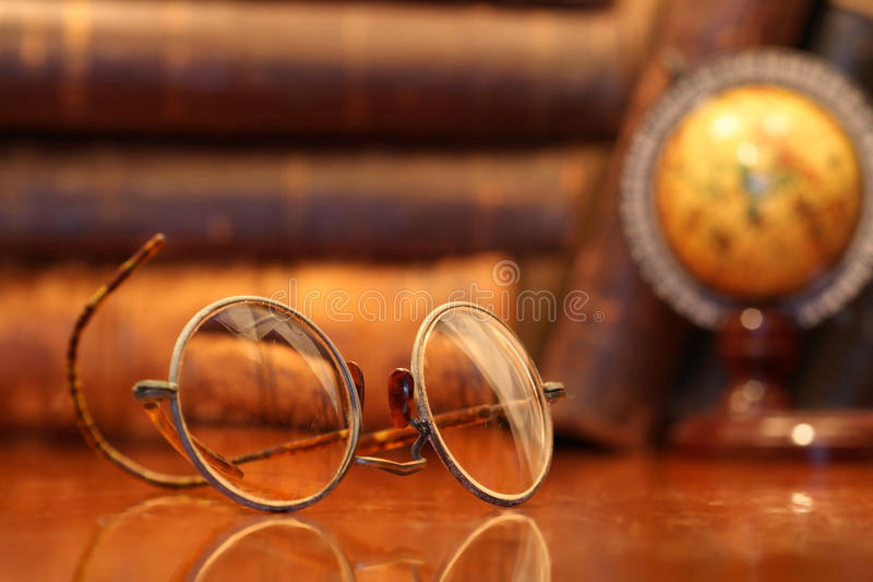 Old Spectacles stock photo