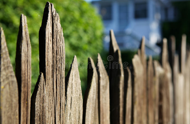 Download Old Spikey Fence stock photo. Image of wall, background - 20026060