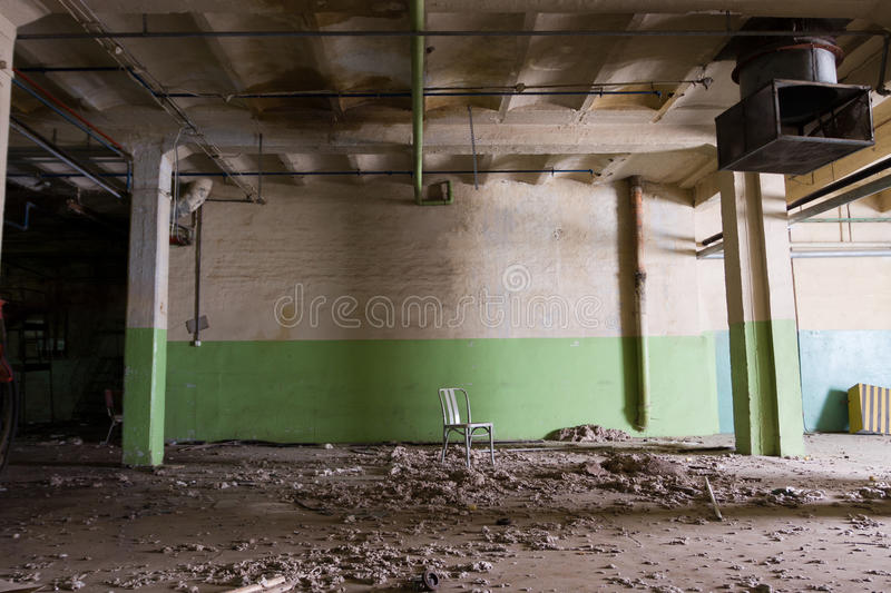 Download The old spinning mill stock photo. Image of broken, demolished - 25377478