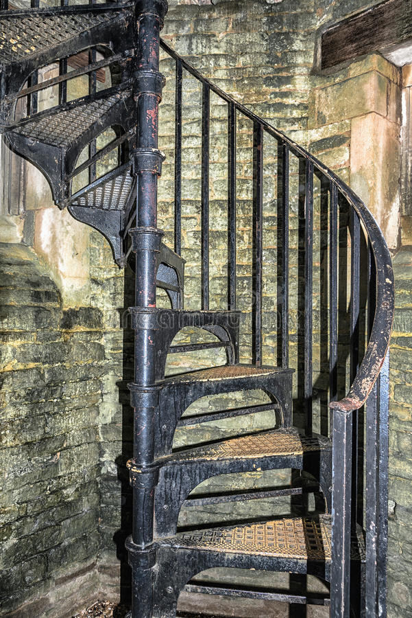 Old spiral staircase stock photo image 48263630 for Aluminum spiral staircase prices