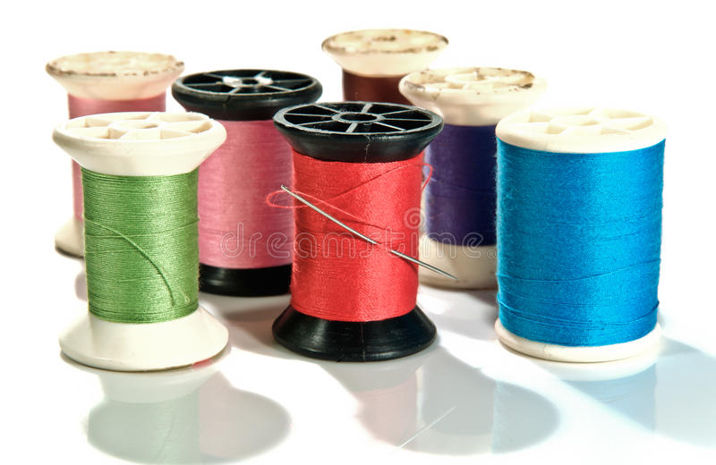 Download Old Spool of thread stock image. Image of reel, bobbin - 31616323