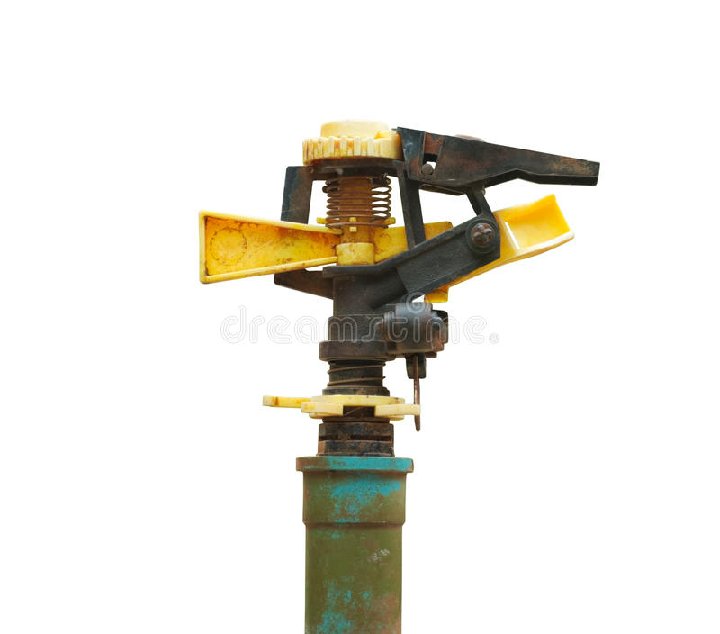 Old sprinkler royalty free stock photography