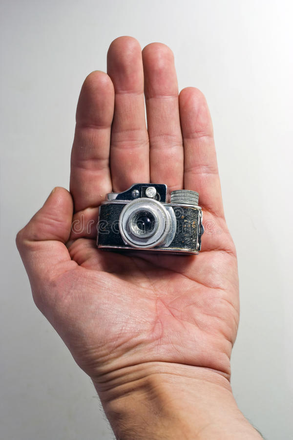 Old spy camera royalty free stock images