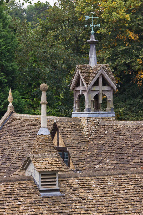 Download Old Stable Roof stock image. Image of masonry, english - 21004327