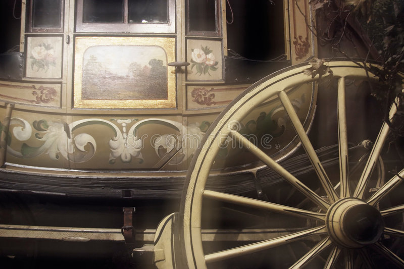 Old stage coach royalty free stock photos