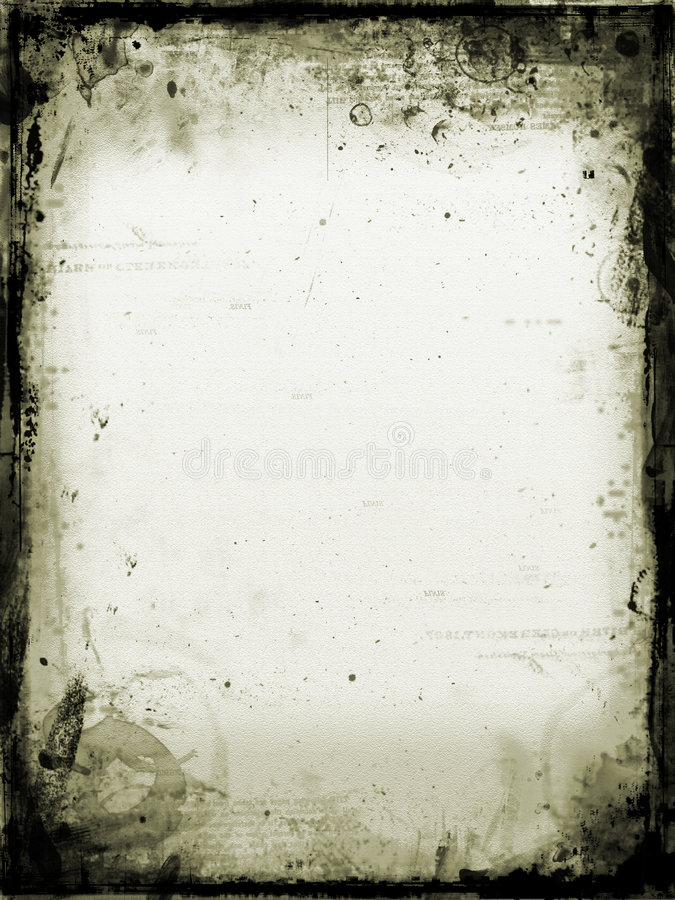 Old stained paper stock illustration