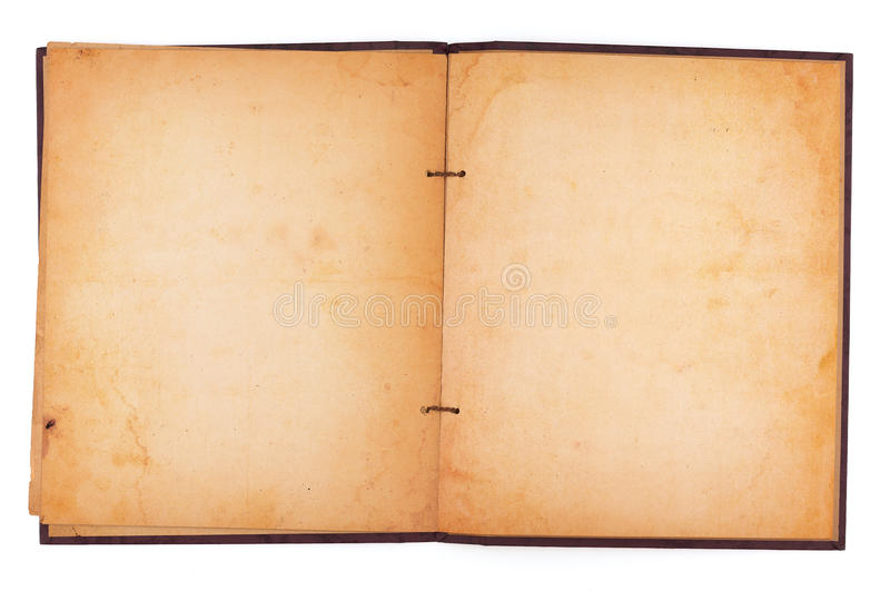Old Stained Scrapbook Stock Photo Image Of Sheet Grunge 47088146