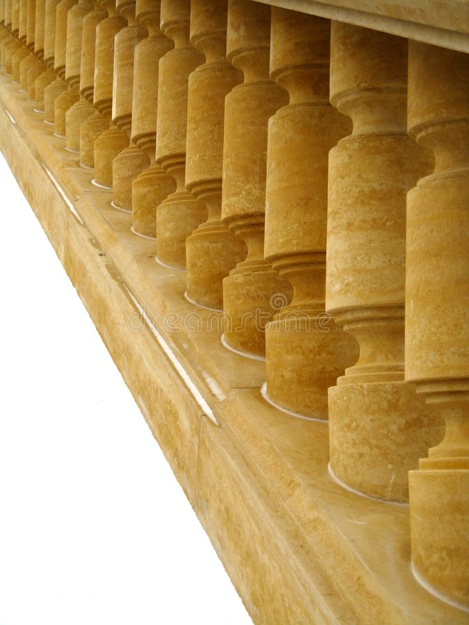 Free Old Staircase - Balustrade Stock Images - 7977514